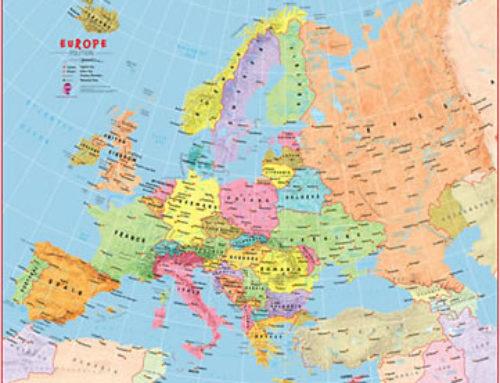 Staff Choice: Children's Map of Europe