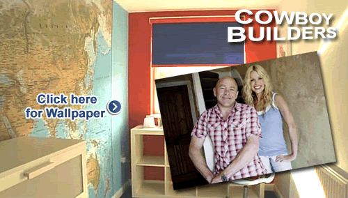 World Wallpaper Map featured on Cowboy Builders