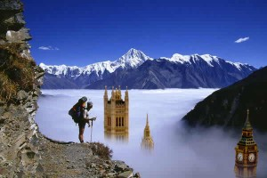 If Mount Everest was in London - Some How?