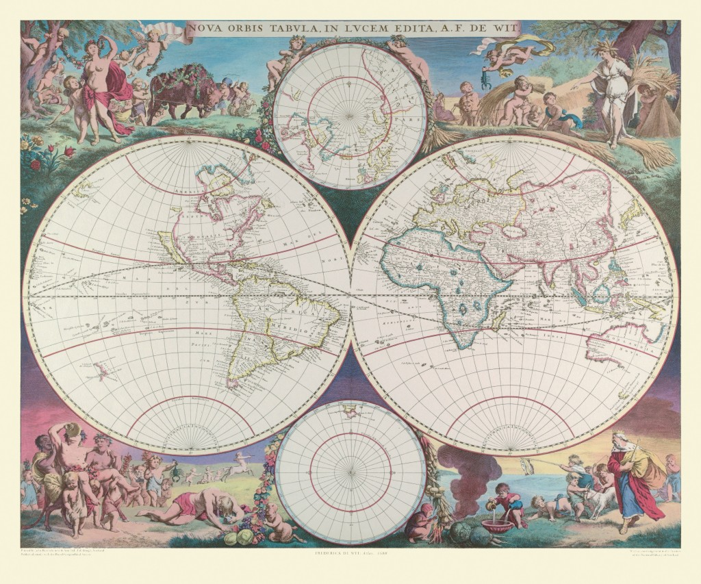 Old maps a brief history of cartography maps international blog nova orbis tablula in lucem edita gumiabroncs Gallery