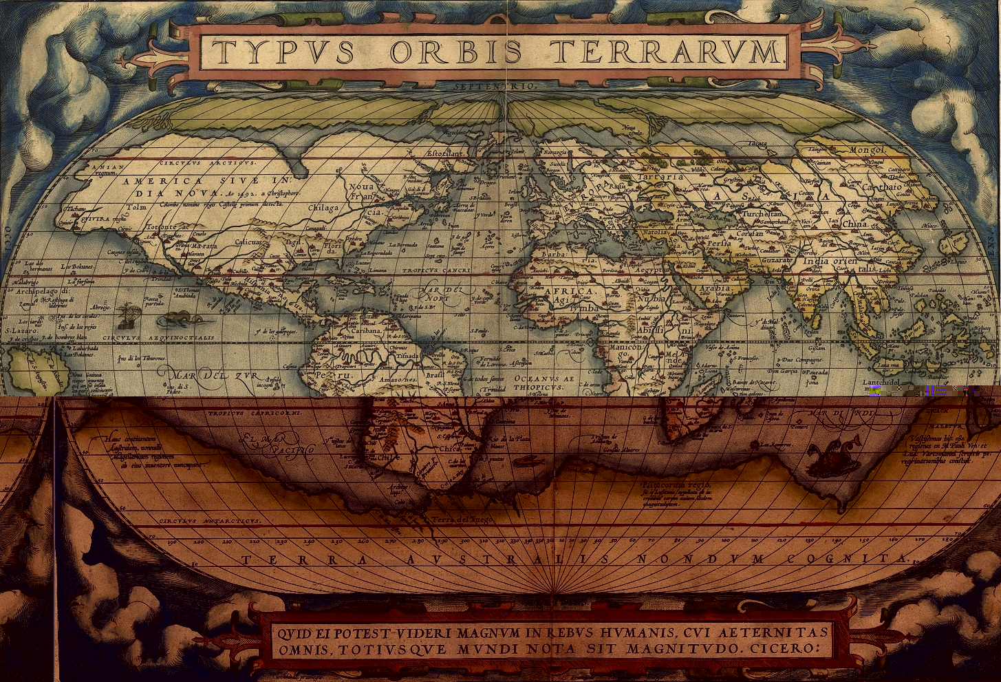 Old maps a brief history of cartography maps international blog ortelius world map gumiabroncs Gallery