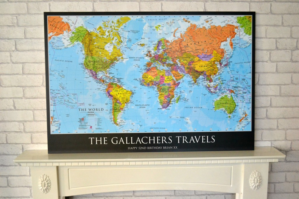 Personalised World Map