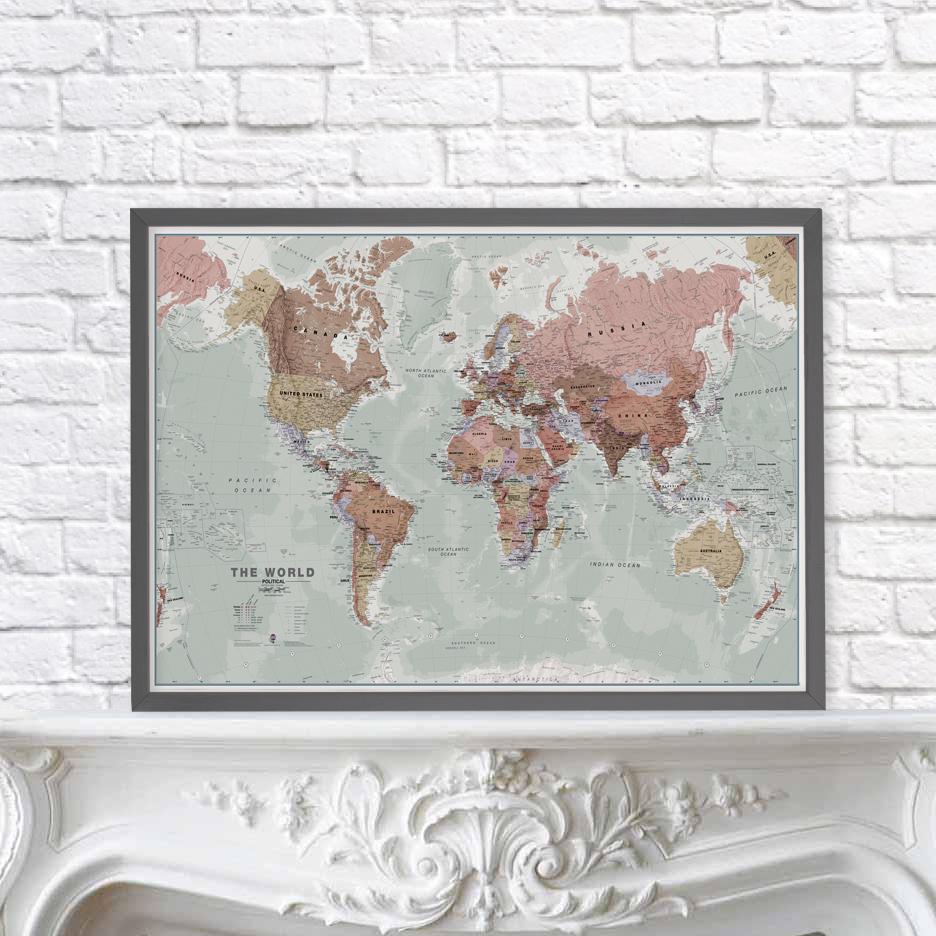 Executive World Map