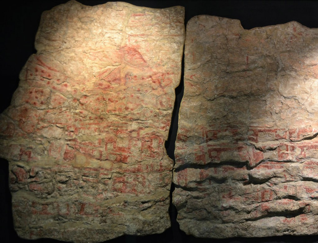 The Stone Map Mural created over 8,500 years ago - (Image: Keith Clarke)