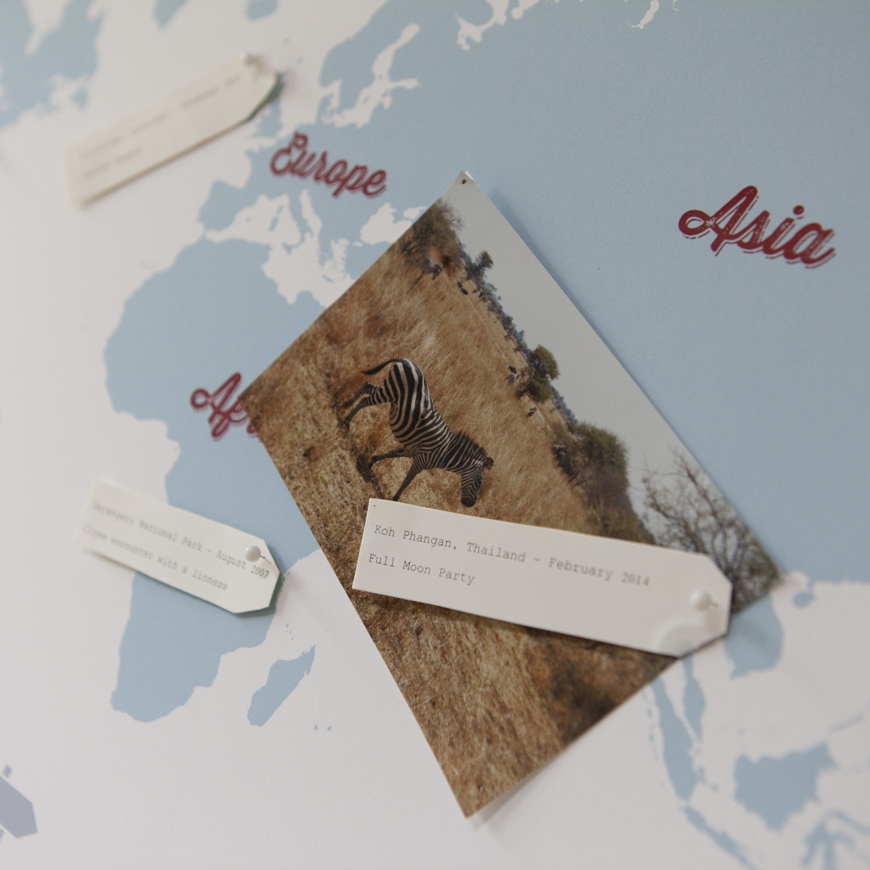 Personalise Your World and create your own travel story this