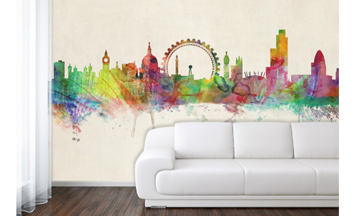 Love london in your home maps international blog london city skyline wallpaper gumiabroncs Gallery