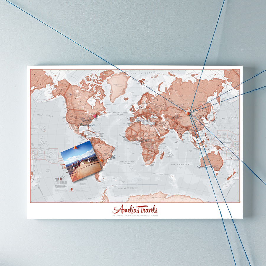 Personalised Maps   Buy online from Maps International