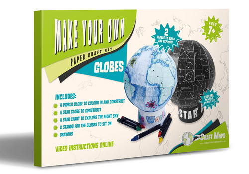 Make Your Own Globes Craft Kit
