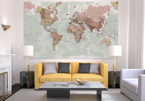 Executive Canvas Map