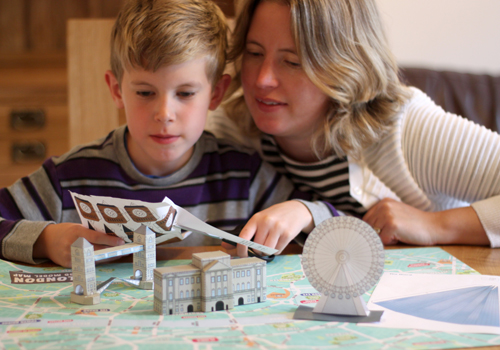 Creating the London 3D Model Map Craft Kit