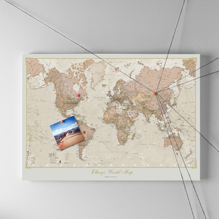 Personalised Antique Map