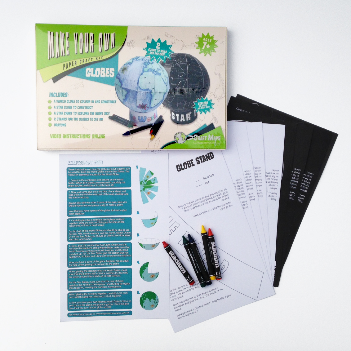 Make Your Own Globes Kit