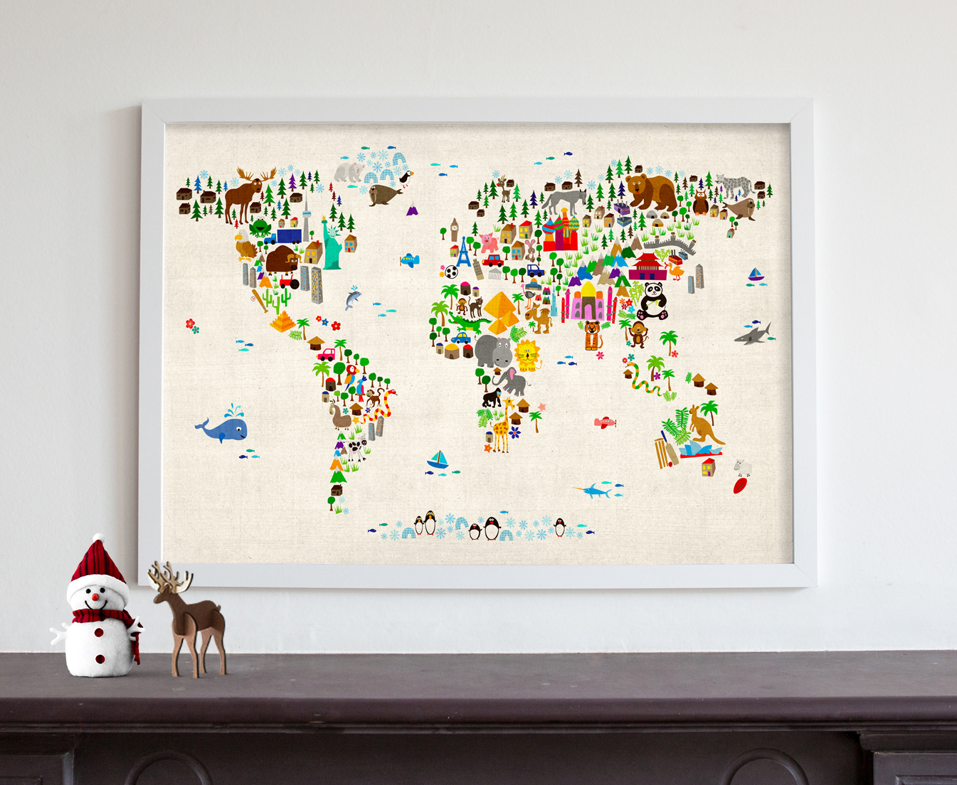Mark zuckerberg features our animal map of the world maps animal map of the world gumiabroncs Images