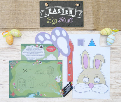 Easter Egg Hunt Activity Pack
