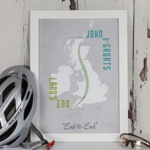Land's End to John o' Groats Print