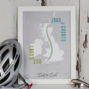 Land's End to John o' Groats Print