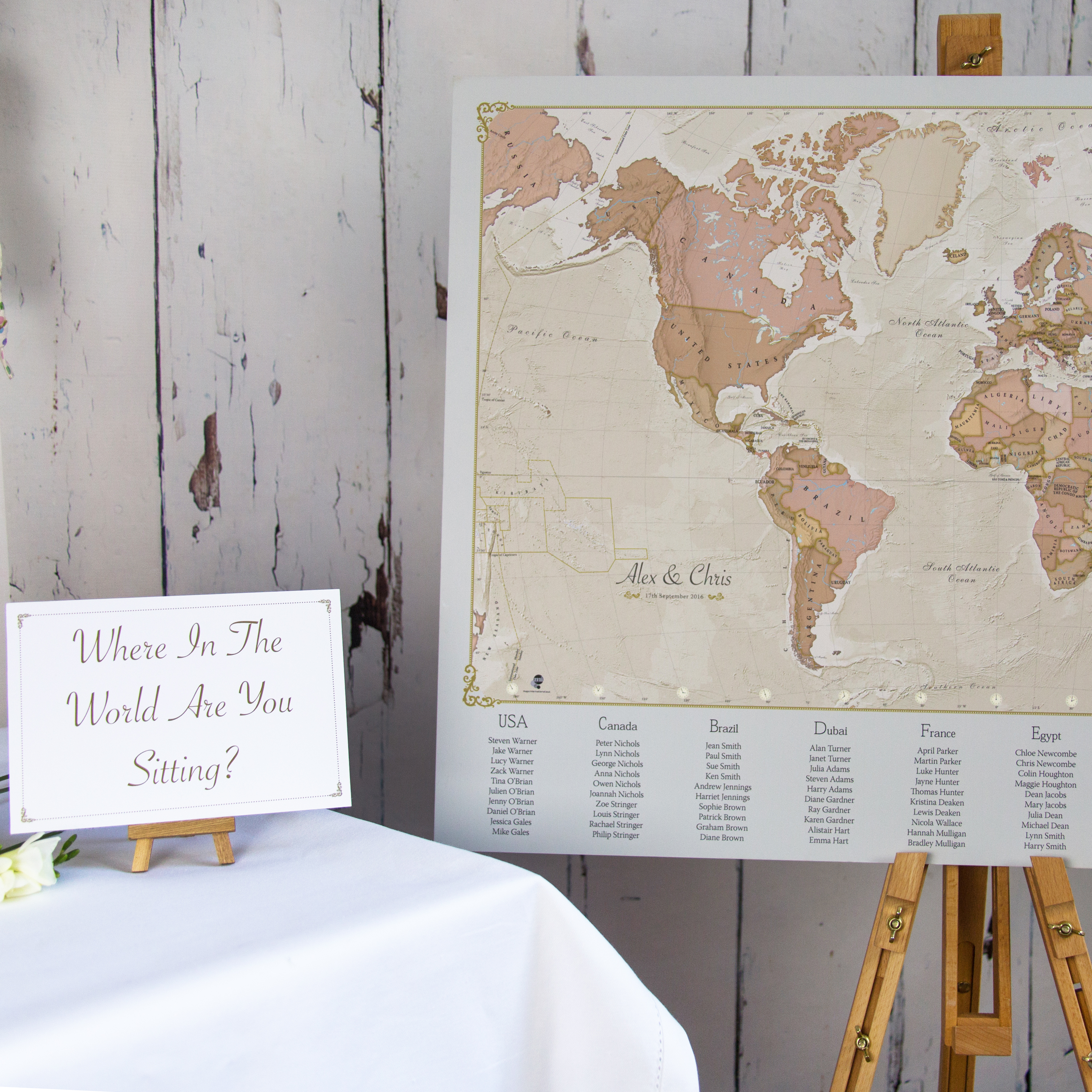 Planning a wedding just went global maps international blog antique world map wedding table plan pinboard gumiabroncs Images