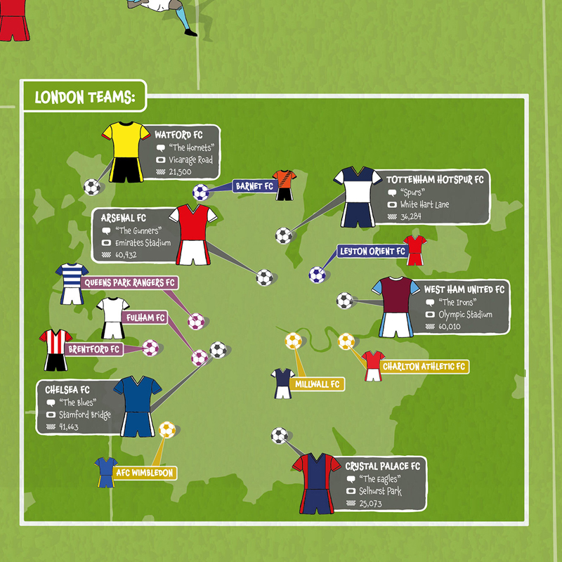 Football Fan S Map Gets Redesigned For New Season Maps
