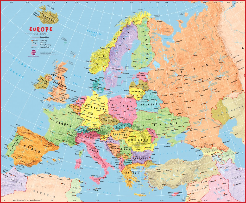 Political Map For Kids.How Maps Can Be Used For Curriculum Subjects Maps International Blog