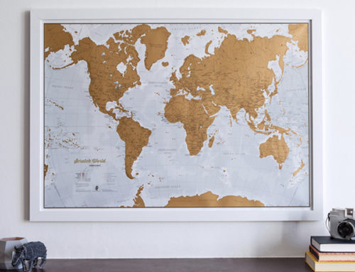 Maps as a graduation gift
