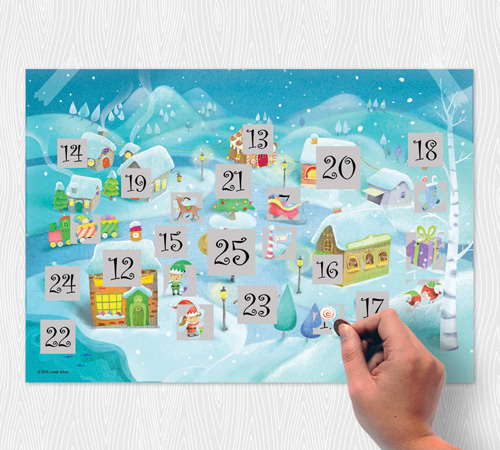 Scratch North Pole Advent Calendar