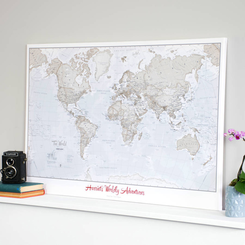 Adventures Ahead with Our Range of Personalised Maps