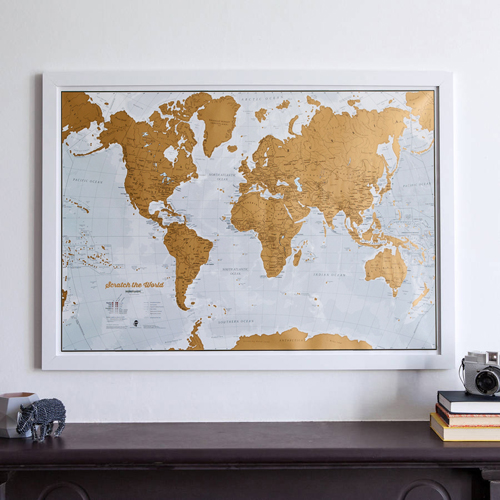 Scratch the World® Print