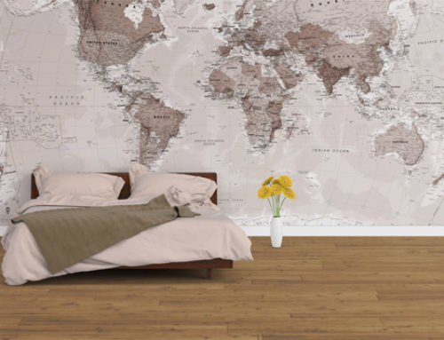 World Map Wallpaper – Designs To Suit Any Home
