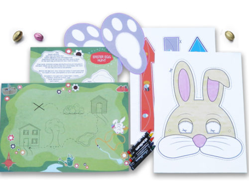 Paper crafts and travel-themed activities for an EGG-cellent Easter