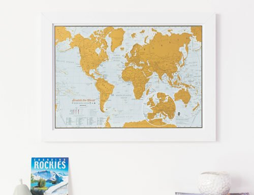 Our new range of Scratch off Travel Prints