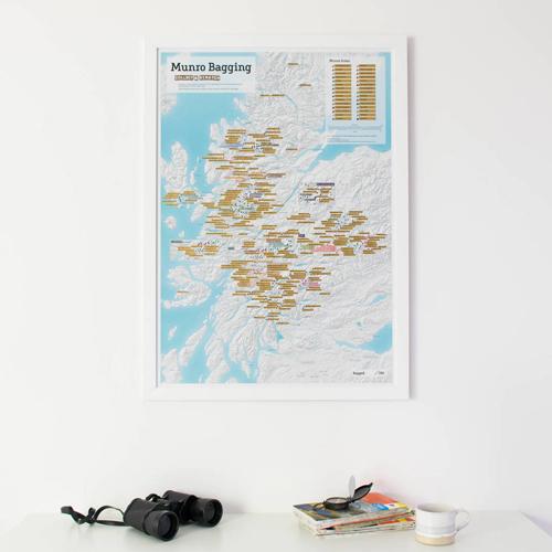 Scratch Off Munro-bagging Print
