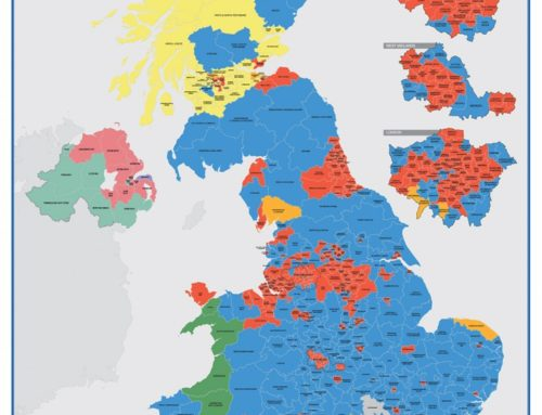 Parliamentary Constituency Maps updated to reflect GE2017 Results