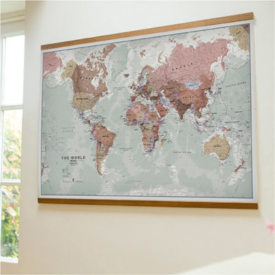 Executive World Map