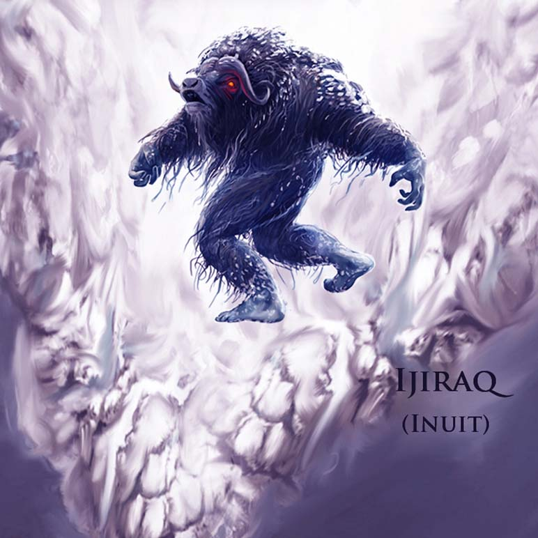Mythical Monsters Ijiraq - Greenland