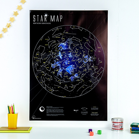 Star Map for Kids