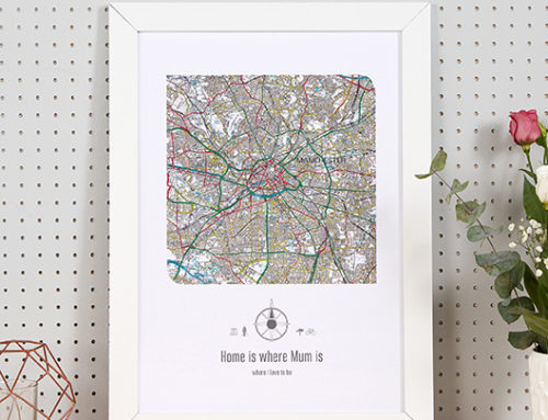 3 Maps to Celebrate this Mother's Day – Personalised Map Gifts for Her