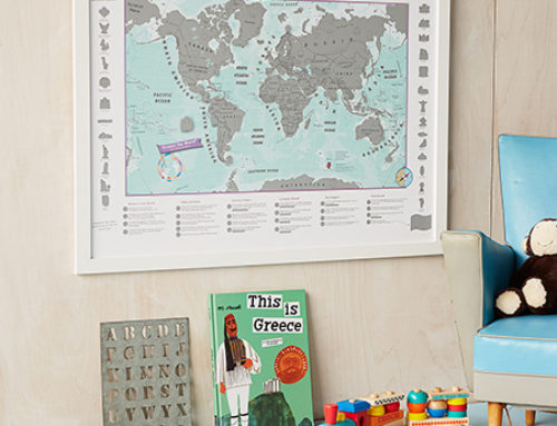 Map Profile – Introducing the Scratch the World®: Kids Adventure Edition!