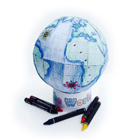 Globe Craft Kit - Maps International