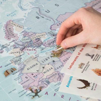 Sticker Map details - Maps International