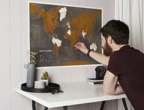 The World According to Dad – Map Gifts for Father's Day
