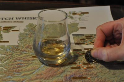 Whisky Distilleries Map Print