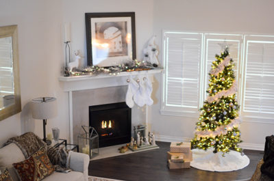 Christmas Decor Tips 1 Living room