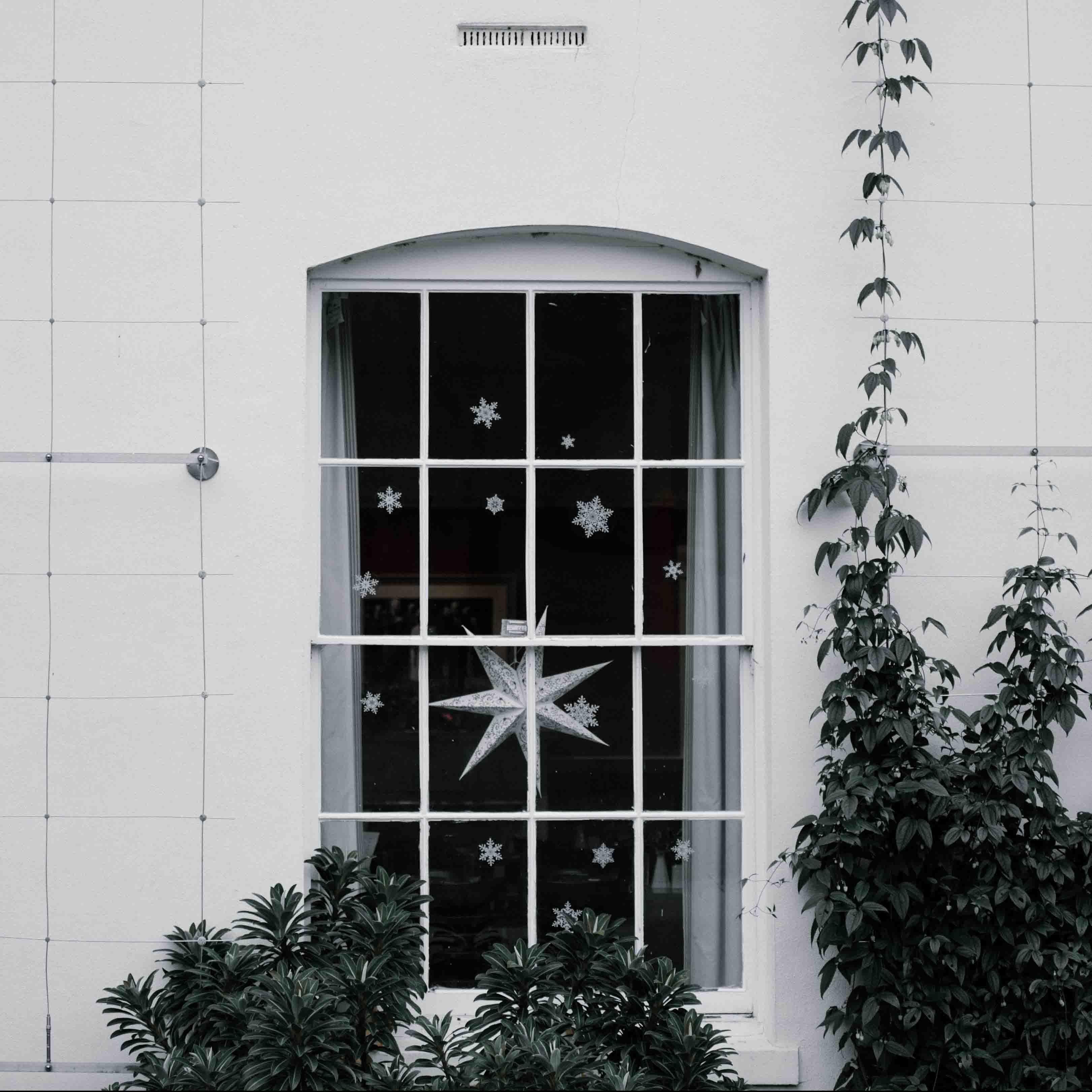 Maps International Christmas Decor Tips 1 Window Image