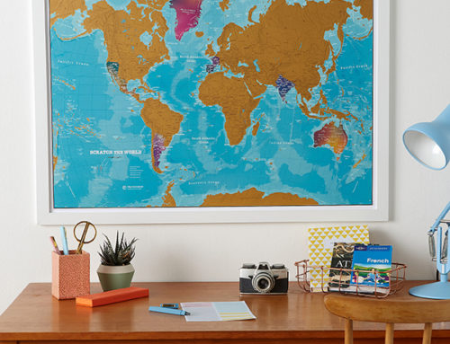 Map Profile – Introducing the Scratch the World®: Watercolour Edition!