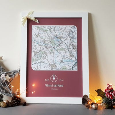 Christmas Gift - Maps International Postcode Lottery image