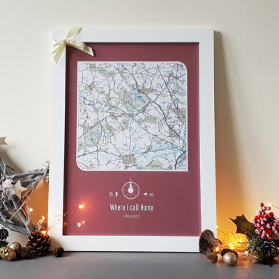 Christmas Gift - Maps International Postcode Lottery image