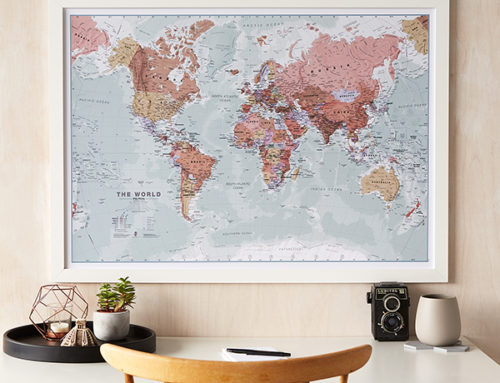 Christmas Map Gifts for the Whole Family