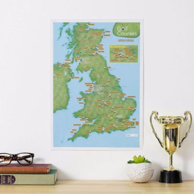 Scratch Off UK Golf Courses