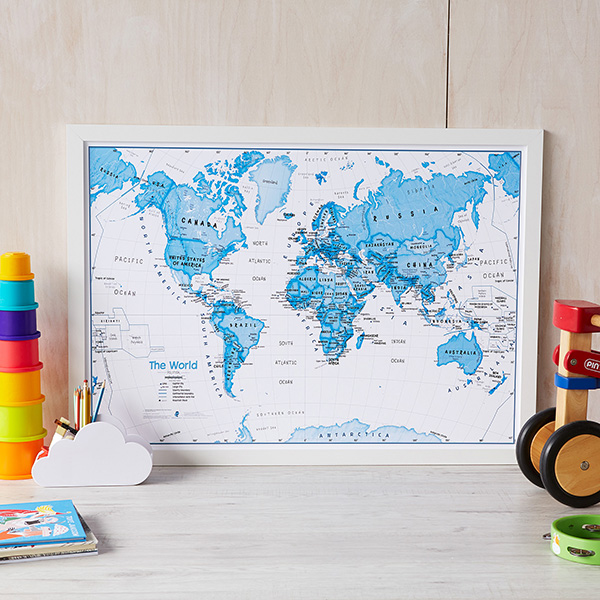 Christmas Gifts the World Is Art Kids Map image