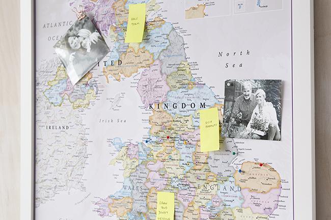 UK Classic Map
